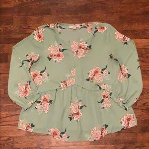 Floral Loft blouse